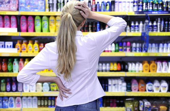 Покупка шампуня