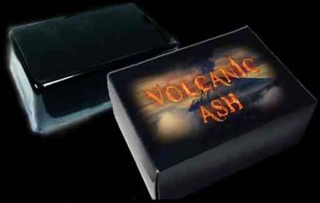 мыло от прыщей из пепла вулкана