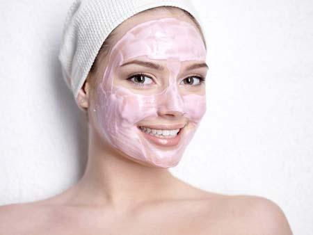 маска для поражённой прыщиками кожи