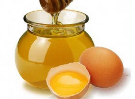 мед с яичным желтком