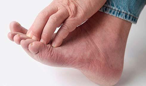 лечение на большом пальце рук
